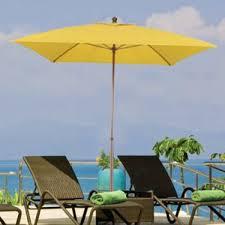 6 Foot Patio Umbrellas 6 Foot Westport Square Fiberglass Patio Umbrella