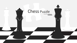 Chess Piece Designs by King And Queen Chess Puzzle Shapes For Powerpoint Slidemodel
