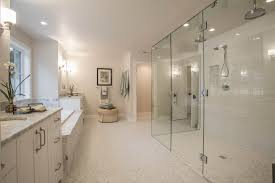 white bathroom ideas bathroom doorless shower for interesting shower room design