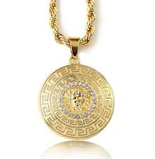 mens gold jewelry necklace images Luxury ideas mens pendant necklaces halukakah medusa men s 18k jpg