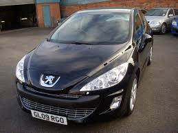 black peugeot used peugeot 308 sport black cars for sale motors co uk
