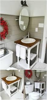 small bathroom diy ideas 20 gorgeous diy bathroom vanities to beautify your routine