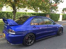 mitsubishi lancer evo ix fq 340 mg autos 2 3 liter 550bhp uk car