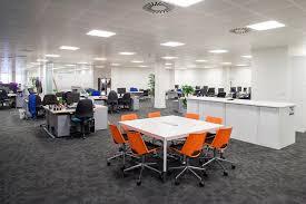 Open Plan Office Furniture by Open Plan Office Design Ideas Portfolio Fusion