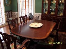 ethan allen dining room tables ethan allen dining chairs chair pads cushions