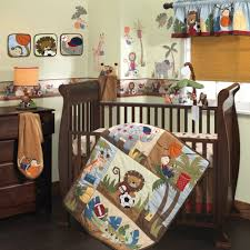 Baby Crib Bed Sets Lambs Team Safari 9 Crib Bedding Set Ideal Baby