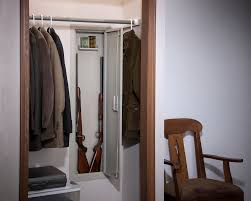 between the studs gun cabinet in wall security cabinet 55