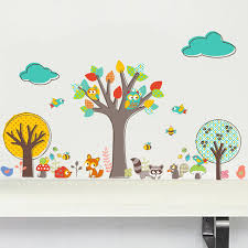 stickers animaux chambre bébé stunning stickers chambre bebe arbre pictures amazing house