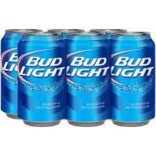 bud light can oz bud light beer 12 oz cans 6 pack nassau grocery
