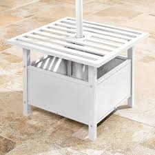 Patio Umbrella Holder by Patio Umbrella Stand Side Table U2013 House Decoration