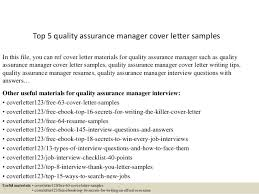 Qa Manager Resume Sample by Top 5 Quality Assurance Manager Cover Letter Samples 1 638 Jpg Cb U003d1434702845