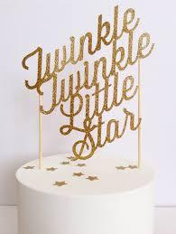 twinkle twinkle cake topper twinkle twinkle custom baby shower birthday paper cake