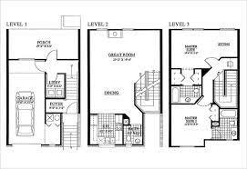 3 storey house lovely ideas 15 3 storey home plans storey house floor plans