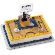 basketball cake topper basketball all net decoset cake decoration boys