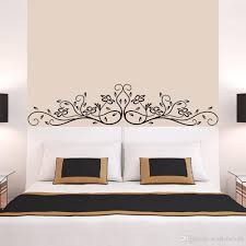 new arrival black flowers rattan wall art mural decor sticker see larger image