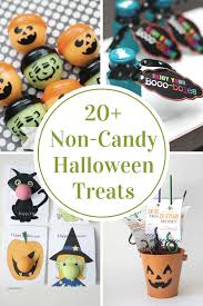 non candy halloween treats