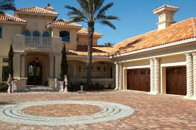 Spanish Style Courtyards by Mediterranean And Spanish Style Garage Doors Banko Overhead Doors
