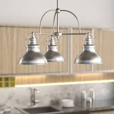 island kitchen lighting fixtures kitchen island lighting you ll wayfair