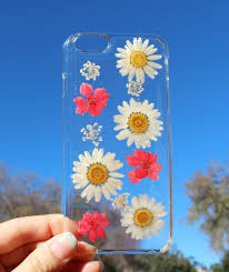 pressed flowers these iphone cases are made from real pressed flowers