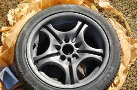 refinish restore curb rashed wheels bmw e46 3 series diy