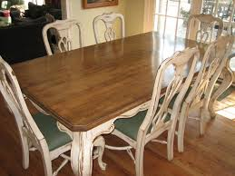 distressed kitchen table and chairs handpainted distressed and stained table and chairs