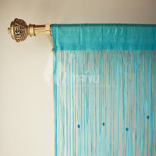 beaded curtain valance decorate the house with beautiful curtains