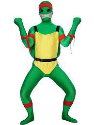 Spandex Halloween Costumes Halloween Green Teenage Mutant Ninja Turtles Spandex Lycra Super
