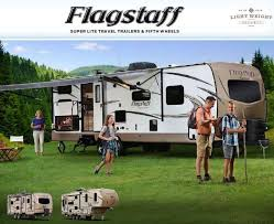 light weight travel trailers flagstaff by forest river flagstaff super lite 27bews bunk model