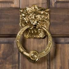 Modern Door Knockers Panthera Brass Door Knocker Door Knockers Hardware