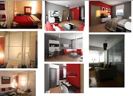 one bedroom apartment design strikingly design ideas small one