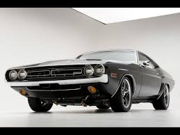 Dodge Challenger Classic - cars dodge challenger r t car by modern front angle 346950