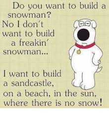 Snowman Meme - do you want to build a snowman no i don t want to build freakin