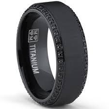 matte black mens wedding bands wedding rings matching titanium wedding bands wedding band sets