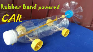 how to make a rubber band powered car air car youtube