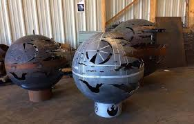 Metal Firepits Pit Is The Outdoor Pit For Wars Fans