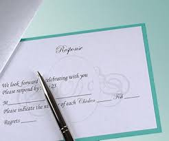 wedding rsvps wedding rsvp etiquette and issues lovetoknow
