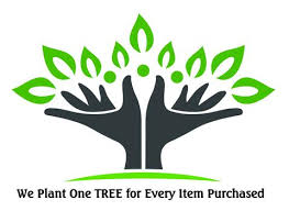 we plant one tree for every item purchased island slumber