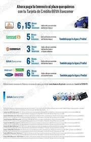 pago de tenencia 2014 df promoción bancomer meses sin intereses en pago de tenencia agua y