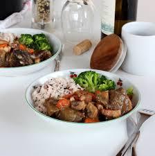 recette de bœuf bourguignon au vin blanc la recette facile