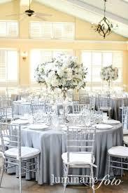 silver centerpieces creative silver wedding centerpieces images platinum linens silver