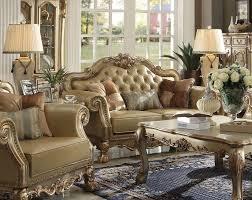sofa dresden dresden sofa golden by acme
