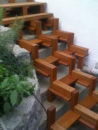treppe bauen terrasse bauen treppe garten terrasse bauen