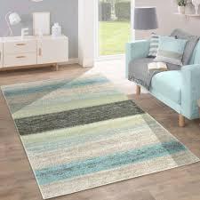 teppiche wohnzimmer designer teppich modern wohnzimmer farbverlauf streifen muster