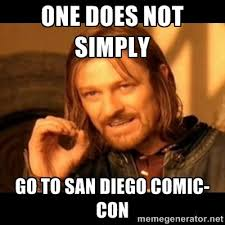 Comic Con Meme - the road to san diego comic con international 2015 shortboxed
