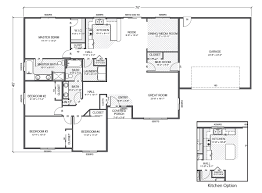 home floor plans withal rambler house plan monarch main floor