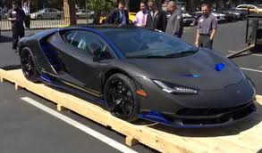 lamborghini centenario first lamborghini centenario arrives in the united states at