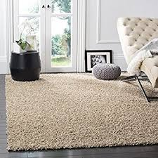 Area Rugs Beige Safavieh Athens Shag Collection Sga119g Beige Area Rug