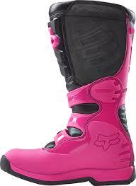 womens motocross boots australia fox 2018 comp 5 black pink womens boots at mxstore