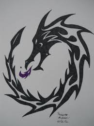fire dragon tribal tattoo by archangelvampire on deviantart