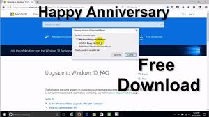 windows 10 anniversary update download directly from microsoft
